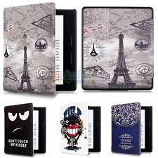 Cute Fashion PU Leather Smart Flip Case Cover For Amazon Kindle Oasis Ereader