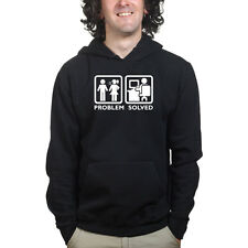 Problem Solved PC Computer Geek Nerd Funny Sweatshirt Hoodie Shirt