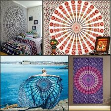 Indian Mandala Tapestries Hippie Tapestry Wall Hanging Bedspread Wall Decoration