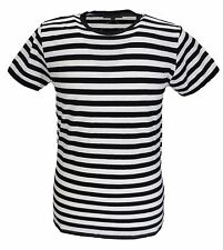 Mens Retro Mod 60s Indie Black & White Cotton T Shirt …