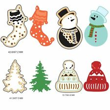 Christmas Gift DIY Cutting Dies Novelty Album Scrapbook Card Paper Stencil Craft