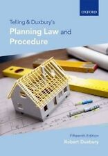 NEW Telling and Duxbury's Planning Law and Procedure by Robert Duxbury (English)