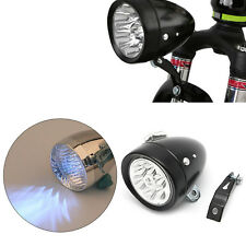Bicycle Bike Retro Front Light Lamp 7 LED Fixie Headlight Headlamp with Bracket