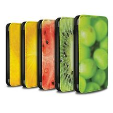 STUFF4 PU Leather Case/Cover/Wallet for Samsung Galaxy J3/Fruit