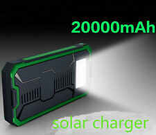 USB Solar Panel Power Bank External Battery Charger For Mobile Phone Tablet  PC