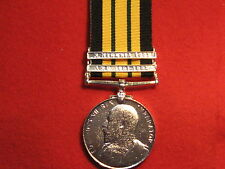 FULL SIZE AFRICA GSM MEDAL GEORGE V WITH 2 CLASPS AND RIBBON.