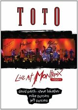 TOTO LIVE AT MONTREUX 1991 DVD (Released September 16th 2016)