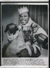 1956 Press Photo Boxing champ Archie Moore light heavyweight in San Diego