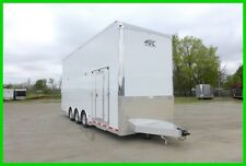 2017 26' ALUMINUM STACKER ENCLOSED CARHAULER CARGO TRAILER W/ESCAPE DOOR