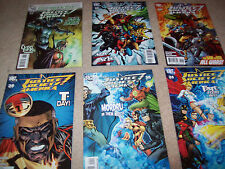 6 x Justice society of America comic issues 34 35 38 39 40 43 dc comics