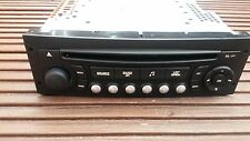 PEUGEOT 307 207 807/CITROEN C2 C3 C4 C8 RD4 RADIO CD PLAYER SIEMENS-VDO. NO CODE