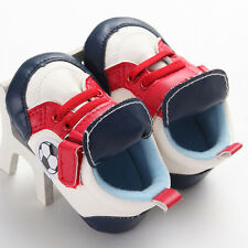 Winter Toddler Baby Soft Sole Crib Shoes Infant Boy Girl Hook Loop Sports Shoes