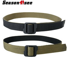Airsoft Tactical Double-sided Duty Nylon Waist Belt Black/Olive/drab M/L/XL/XXL