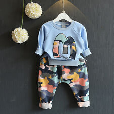 Toddler Boys Clothing Sets Girls Clothes Autumn Winter Kids Clothes  Outfits Set
