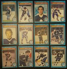 1979-80 OPC TORONTO MAPLE LEAFS Select from LIST NHL HOCKEY CARDS O-PEE-CHEE