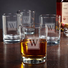 Home Wet Bar Eastham Personalized 10 oz. Rock Glass Set of 4