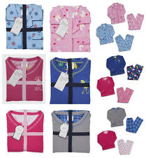 Older Girls and Boys Pyjamas Micro Fleece Or Flannel Ages 2-3 up to 13 Years