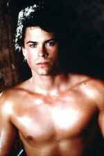 Rob Lowe 24X36 Poster Hunky Barechested Beefcake Pin Up
