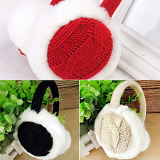 Women Girl Winter Warm Kint Earmuffs Earwarmers Ear Muffs Earlap Warmer Exotic