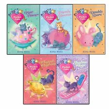Pocket Cats Collection By Kitty Wells 5 Books Set Double Dare,Paw Power New