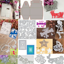 Christmas Cutting Dies Stencil Scrapbooking Album Paper Card Embossing DIY Craft