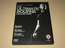 The Ultimate Bourne Collection (Identity/Supremacy/Ultimatum) on DVD