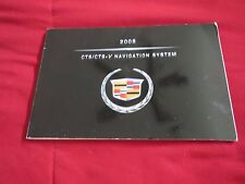 2008 CADILLAC CTS CTS-V NAVIGATION SYSTEM OWNERS MANUAL SUPPLEMENT BOOKLET