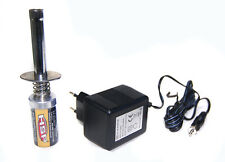HSP RC Nitro 1.2 V 1800MAH RECHARGEABLE GLOW PLUG starter Igniter + charger