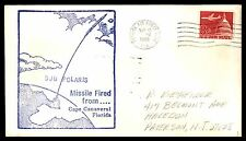 MAYFAIR99 SUB POLARIS CAPE CANAVERAL FL PATRICK AFB MAR 10 1966 BLUE AIR MAIL CO