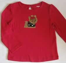 Gymboree Pups and & Kisses Top Shirt 4T New Pink Yorkie Dog Girls Tee Nwt Fall
