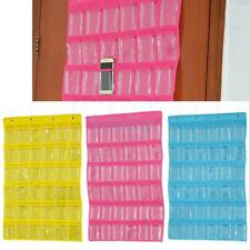 36-Pocket Closet Hanging Jewelry Organizer Necklace Storage Holder 3 Colors