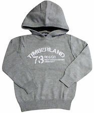 Timberland Pullover Hooded Jumper Kid Boys Childrens Grey T2D30 052 R3