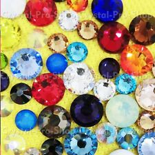 720 Genuine Swarovski Hotfix Iron On 8ss Rhinestone Crystal 2mm ss8 Assorted Gem