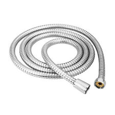 AU Flexible 1.2m 1.5m 2m Chrome Stainless Steel Pipe Bathroom Shower Water Hose