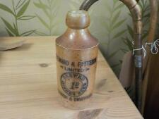 Antique Steward & Pattersons Ltd Norwich & Swaffham Brewed Ginger Beer Jug