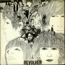 Beatles Revolver - 2nd - VG UK vinyl LP album record PMC7009 PARLOPHONE 1966