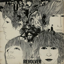 Beatles Revolver - 2nd - VG vinyl LP album record UK PMC7009 PARLOPHONE 1966