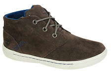 Timberland Youth Littleton Lace Chukka Kids Boots Shoes Brown Leather A121C D6
