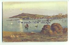 tp9325 - Cornwall - Falmouth Harbour & Sheep. Artist - Hanna Ford - postcard