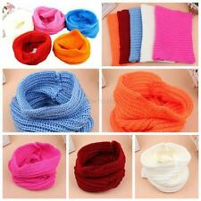 Autumn Winter Warm Baby Kids Knit Scarf Boy Girl Toddler Crochet Knitted Scarves