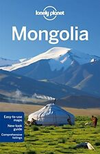 Lonely Planet Mongolia (Travel Guide) New Paperback Book Lonely Planet, Michael
