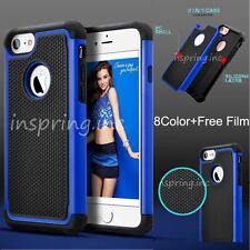 Silicone Rubber Defender TPU Shockproof Bumper Cover Case For iPhone 7/7 plus