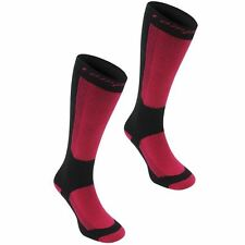 Campri Womens Snow Socks 2 Pack Elasticated Warm Sports Skiing Snowboarding