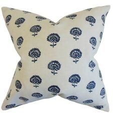 The Pillow Collection Londyn Floral Cotton Throw Pillow