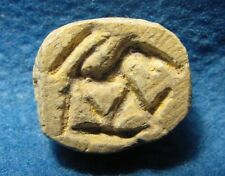 Early Iron Age 12-9cen. BC. Judaea Scarab seal with LION Judea Archaeology.