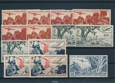 [56253] Equatorial Africa Airmail good lot of MNH Very Fine stamps