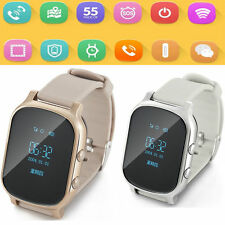 Tracker GPS Newest GSM Smart Watch Phone Tracking For Kids/Ederly