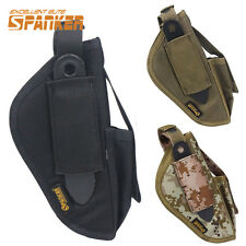1000D Airsoft Tactical Pistol Hand Bag Left Right  Waist Holster Drop Pouch
