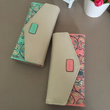 Lovely Design Small Floral Long Wallet Change Purse Ladies Casual Clutch Bags