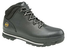 Mens New Timberland 'SPLITROCK PRO' Black Leather Hiker Type Safety Boots
